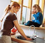 Миттєвий проточний водонагрівач електричний кран з LCD екраном Delimano, кран Делімано, фото 4