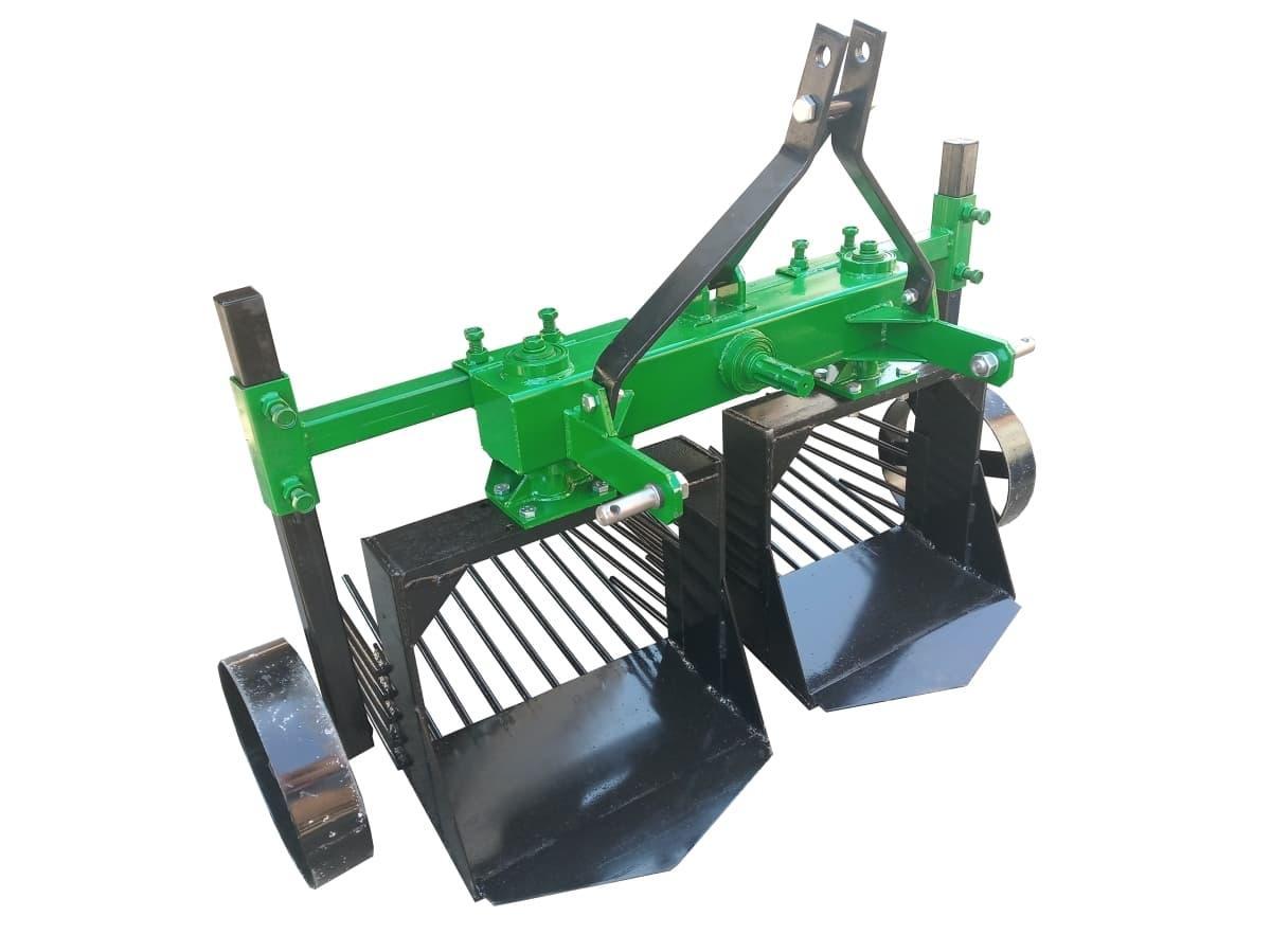 Картоплекопачка вібраційна 2-х рядна для мінітрактора КВТ-2
