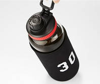 Спортивна скляна пляшка NBA 1000мл в чохлі