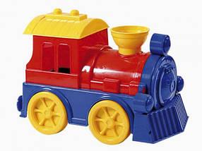 Дитячий пластиковий поїзд 0644 Юніка