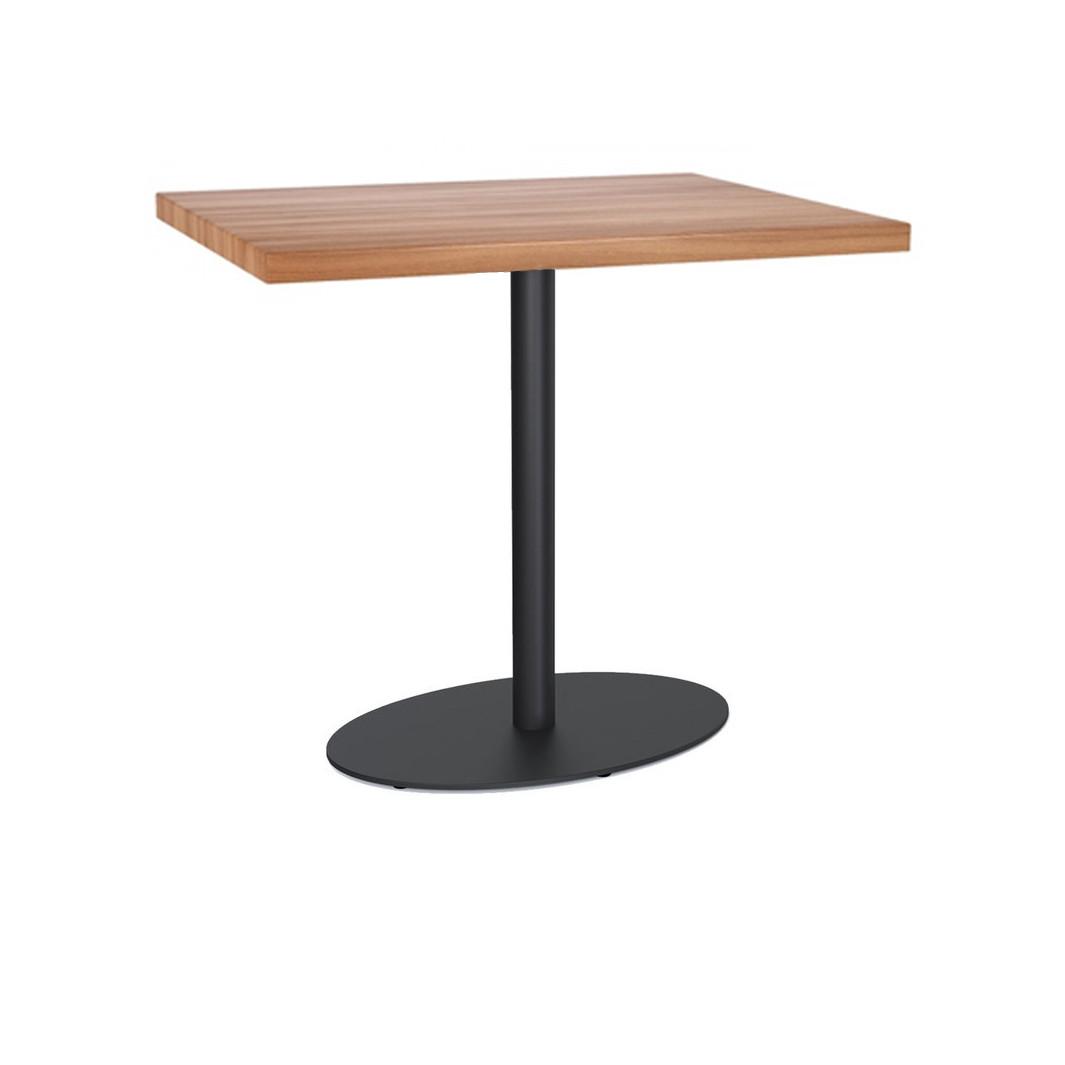 Прямокутний стіл для кафе барів ресторанів з масиву дерева за ціною від виробника