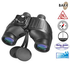Бінокль Barska Battalion 7x50 WP/RT/Compass Illuminated Refurbished
