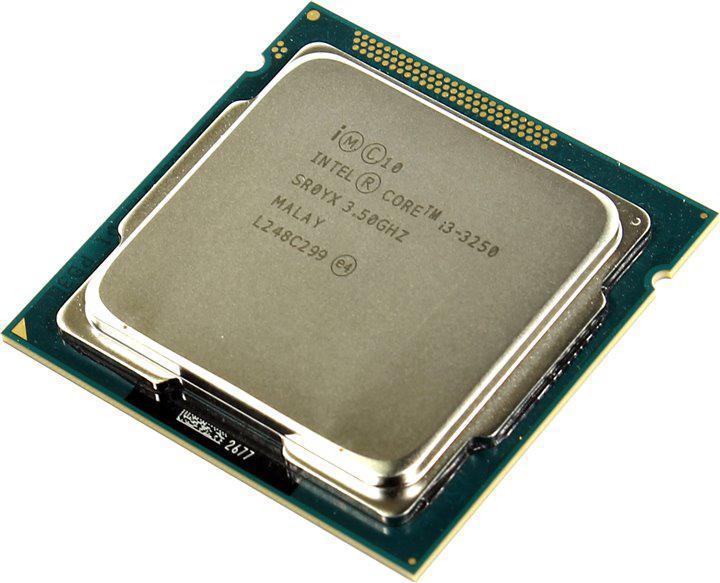 Процессор Intel Core i3 3250 3.5GHz/5GT/s/3MB (BX80637I33250) s1155 TRAY Б/У