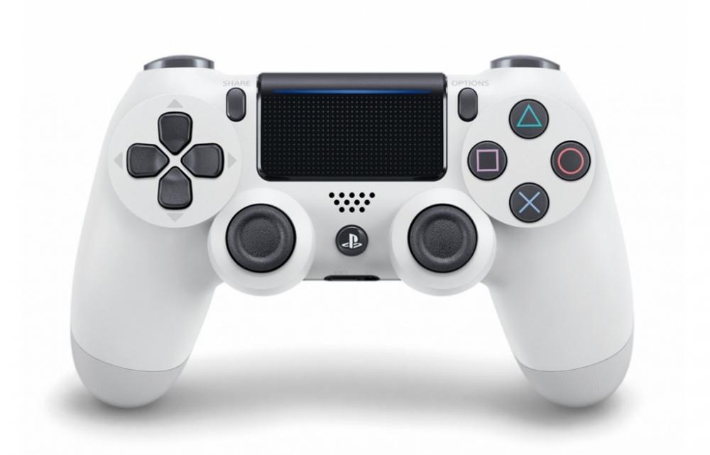 Геймпад (Джойстик) Sony PS4 Dualshock 4 V2 White (Б/В)