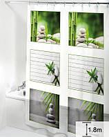 Шторка для ванной комнаты Дом на все 100 Bamboo 180х180 см
