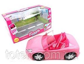Машина для Куклы Beauty  18 х 34 х 14 см игрушечная. Розовая K877-30C