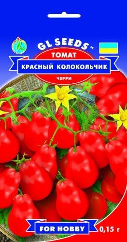 Семена Томата Красный колокольчик черри (0.15г), For Hobby, TM GL Seeds