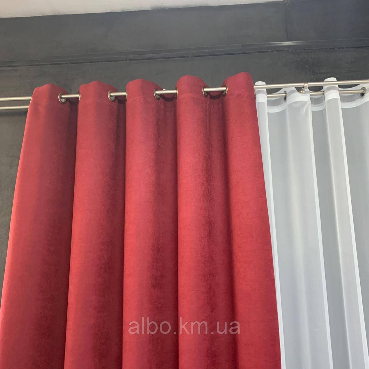 Микровелюровые шторы для спальни гостинной прихожей, шторы на люверсах в комнату спальню зал квартиру,