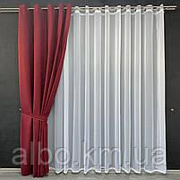 Микровелюровые шторы для спальни гостинной прихожей, шторы на люверсах в комнату спальню зал квартиру,, фото 5