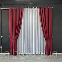 Микровелюровые шторы для спальни гостинной прихожей, шторы на люверсах в комнату спальню зал квартиру,, фото 2