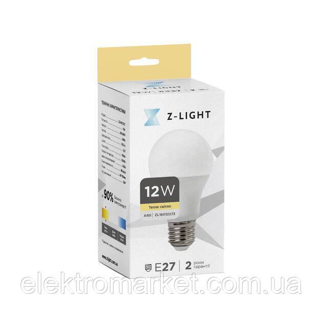 LED лампа Z-Light 12W, E27, 1000lm (ZL 16012273)