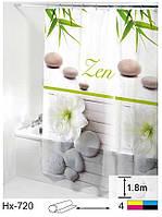 Шторка для ванної кімнати Будинок на всі 100 Zen 180х180 см