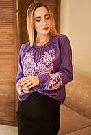 """Жіноча блуза вишиванка """"Вечірня зірка"""", фото 1"""