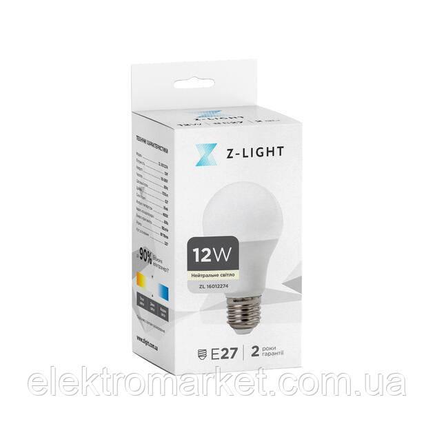 LED лампа Z-Light 12W, E27, 1000lm (ZL 16012274)