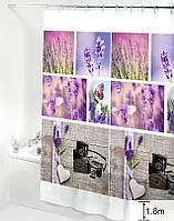 Шторка для ванної кімнати Будинок на всі 100 Lavender 180х180 см