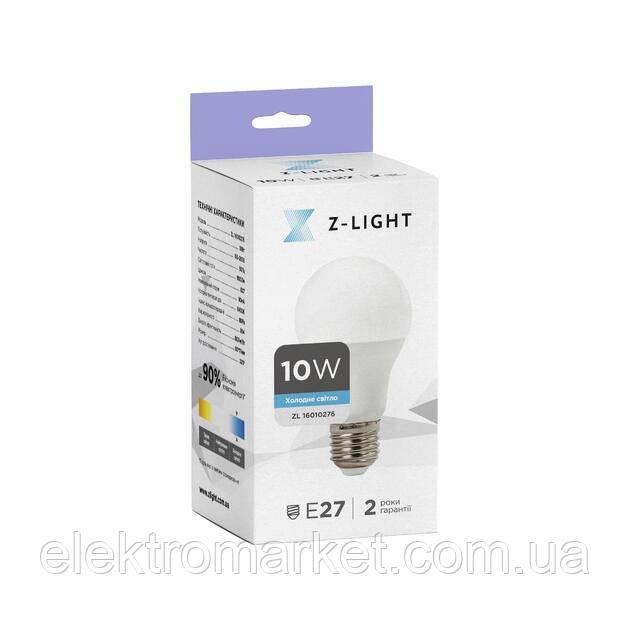 LED лампа Z-Light 10W, E27, 800lm (ZL 16010276)