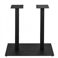 Опори для столів в ресторан з металу від виробника з округленими кутами