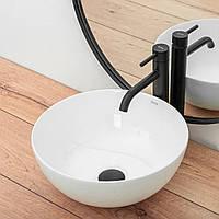 Умывальник раковина накладной для ванной REA STELLA WHITE REA-U1878, фото 1