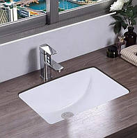 Умывальник раковина для ванной на столешницу врезной REA ADELA 33x46 REA-U6653, фото 1