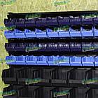 Ящик для метизів 702 для зберігання дрібних металовиробів, складський контейнер, з первинної сировини, фото 9