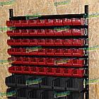 Ящик для метизів 702 для зберігання дрібних металовиробів, складський контейнер, з первинної сировини, фото 10