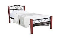 Кровать Лара Люкс Вуд сп.м.0,9*2,0, фото 1