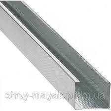 Профиль стоечный для гипсокартона CW 4 м 100 мм 0,42