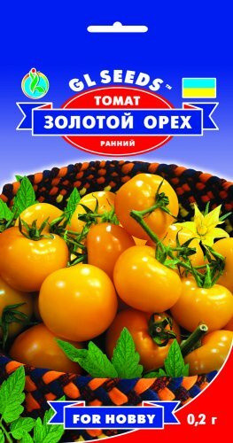 Семена Томата Золотой орех (0.2г), For Hobby, TM GL Seeds