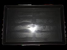 Поддон для клетки пластиковый Н-Т 33,5х49,2х2,7