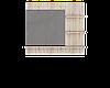 Зеркало для трюмо Соната (800*116*700)