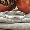 Серебряное обручальное кольцо вес 2.1 г размер 19, фото 2