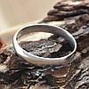 Серебряное обручальное кольцо вес 2.1 г размер 19, фото 4