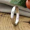 Серебряное обручальное кольцо вес 2.1 г размер 19, фото 6