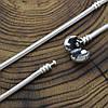 Серебряный браслет Pandora длина 20 см ширина 3 мм вес 15.8 г, фото 4