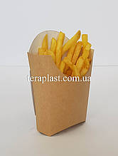 "Упаковка для картофеля фри ""Макси"" 75х160 (Крафт)"