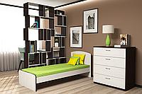 Кровать односпальная (Сп. м. 0,8 х 1,9)