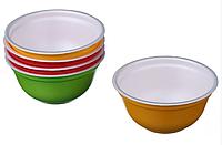 Емкость для супа одноразовая из вспененного полистирола цветная 500 мл 480 шт