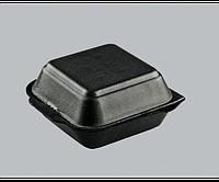 Ланчбокс одноразовый НР-6 черный 250 шт 150х150х60