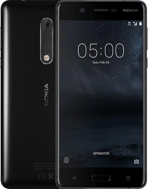 Смартфон нокиа оригинал черный с двойной камерой Nokia 5 TA-1024 SS 2/16Gb black