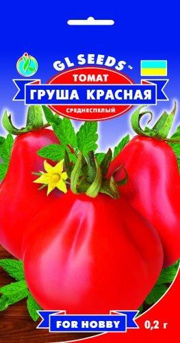 Семена Томата Груша красная (0.2г), For Hobby, TM GL Seeds