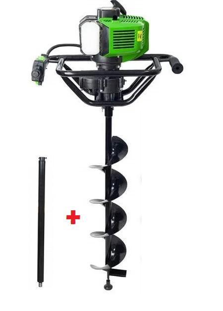 Мотобур Pro-Craft PROFESSIONAL GD62 (комплект 1 шнек 150ммх800мм + удлинитель 500мм). Бензобур Про-Крафт