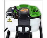 Мотобур Pro-Craft PROFESSIONAL GD62 (в комплекте шнеки 150мм, 200мм и 250мм + удлинитель). Бензобур Про-Крафт, фото 8