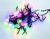 """Новогодняя светодиодная гирлянда 5.75 метров Xmas 40P T2 """"Шишки"""" led гирлянда на ёлку, новорічна гірлянда (NV)"""
