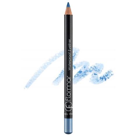 Водостойкий карандаш для глаз Flormar Waterproof Eyeliner 109 Baby Blue (Голубой)