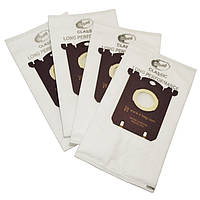Комплект мешков из микроволокна S-BAG Classic long performance E201S (4 шт) для пылесоса Electrolux 9002560598