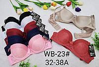 Бюстгальтеры хлопок Гипюровые Чашка А-В, лифчики белье из гипюра (WB23)