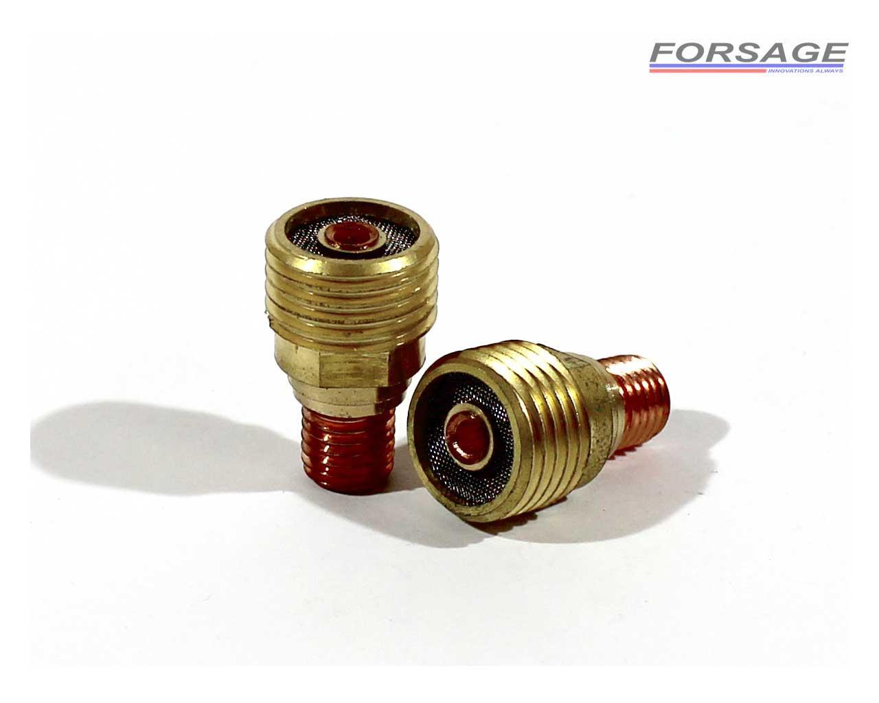 Корпус цанги короткий с газовой линзой WP-9/20 2,4ММ (45V44)
