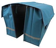 Велосипедная сумка на багажник велоштаны Сrivit Голубой S061787, КОД: 1851660