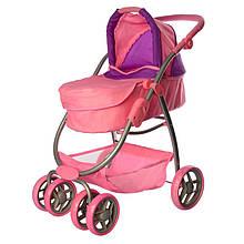 Коляска для куклы Kronos Toys 9662 69 x 37 x 53 см Розовый int9662, КОД: 977946