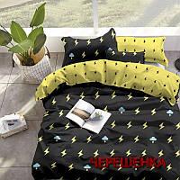 """Комплект постельного белья на полуторную кровать из бязи """"Gold"""" №151381АВ"""